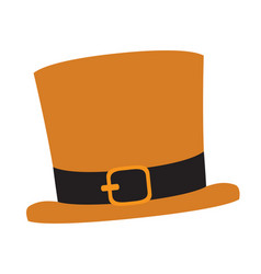 traditional irish hat patrick day vector image