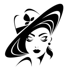 women icon on white background vector image