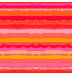 Striped pattern in tropical coral red vector image vector image
