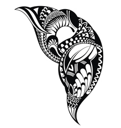 Tattoo design vector image