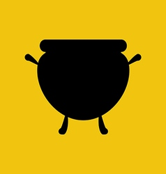 Witch cauldron vector image