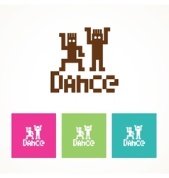 Dance icon vector