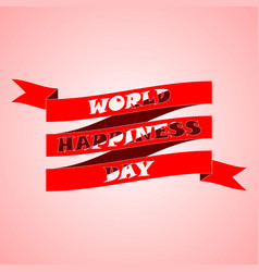 Design for international day of happiness 20 vector