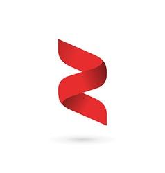 Letter Z number 2 logo icon design template vector