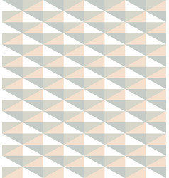 Pattern from light color triangles vector