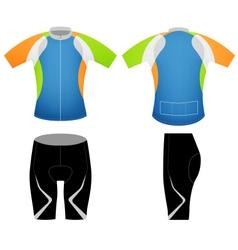 Sports colors t shirt vector