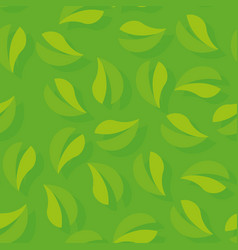 texture tree foliage - seamless pattern vector image