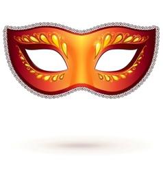 venitian carnival mask vector image