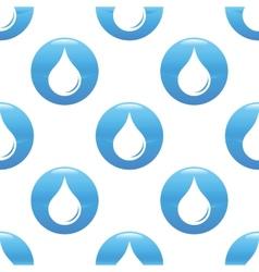 Waterdrop sign pattern vector image
