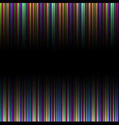 Colorful gradation striped pattern background vector