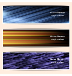 abstract web bannersheaders vector image vector image