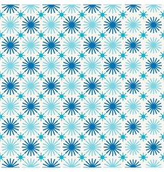 seamless winter abstract background with snowflake vector image