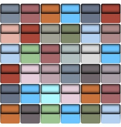 Background with colorful blocks vector image