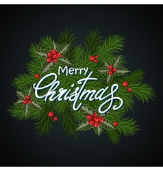 Christmas background dark vector