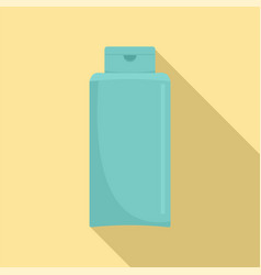 Conditioner bottle icon flat style vector