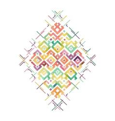 Ethnic Print vector
