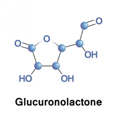 Glucuronolactone structural connective tissue vector
