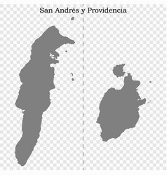 high quality map is a state colombia vector image