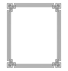 Isometric geometric frame vector