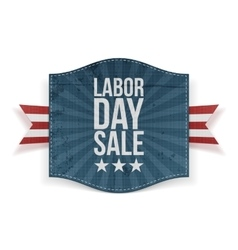 Labor Day Sale greeting paper Banner vector