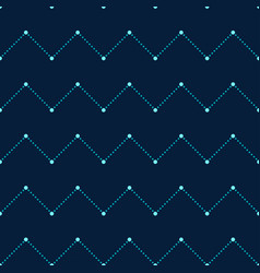 navy blue seamless pattern vector image