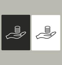 salary - icon vector image