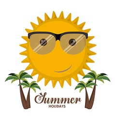 Summer Glasses design vector image