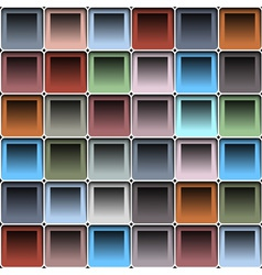 Background with blocks vector image vector image