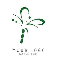 Sign logo vector image vector image