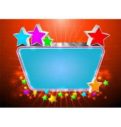Glossy marquee vector image vector image