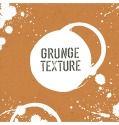 grunge texture with stains vector image vector image
