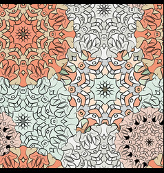 seamless exotic pattern ornament for decoration vector image