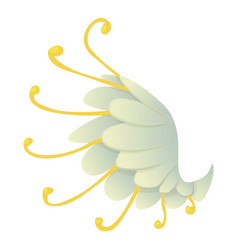 wing icon cartoon style vector image