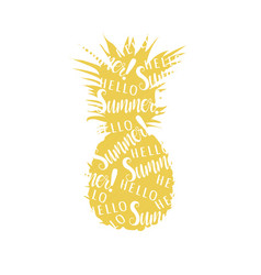 Abstract pineapple pineapple vector