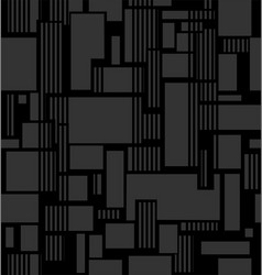 abstract texture from squares and line vector image