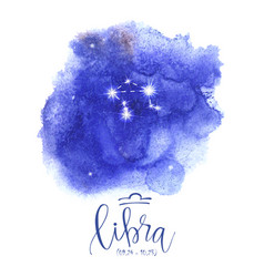 astrology sign libra vector image