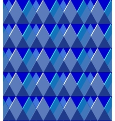 Background of the blue rhombus vector image
