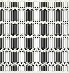 black and white repeat design for decor vector image