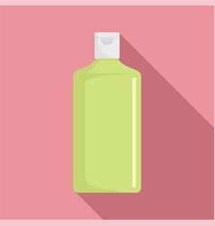cosmetic bottle icon flat style vector image