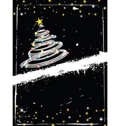 grunge Christmas vector image vector image