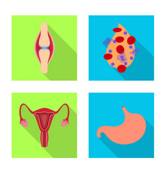 human and health symbol vector image