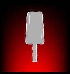 Ice cream style vector