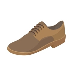 Men shoe icon cartoon style vector