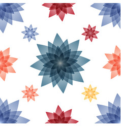seamless pattern background with artificial vector image