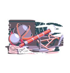 tools for new discoveries vector image