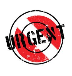 Urgent rubber stamp vector