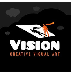 Vision Dream logo vector