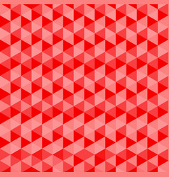 red triangles seamless background abstract pattern vector image vector image