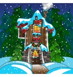 Fabulous home Winter eps10 vector