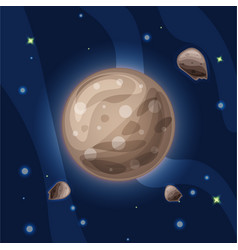 Ganymede cartoon the largest vector